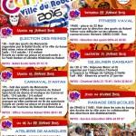 programme carnaval 2016 ville du robert